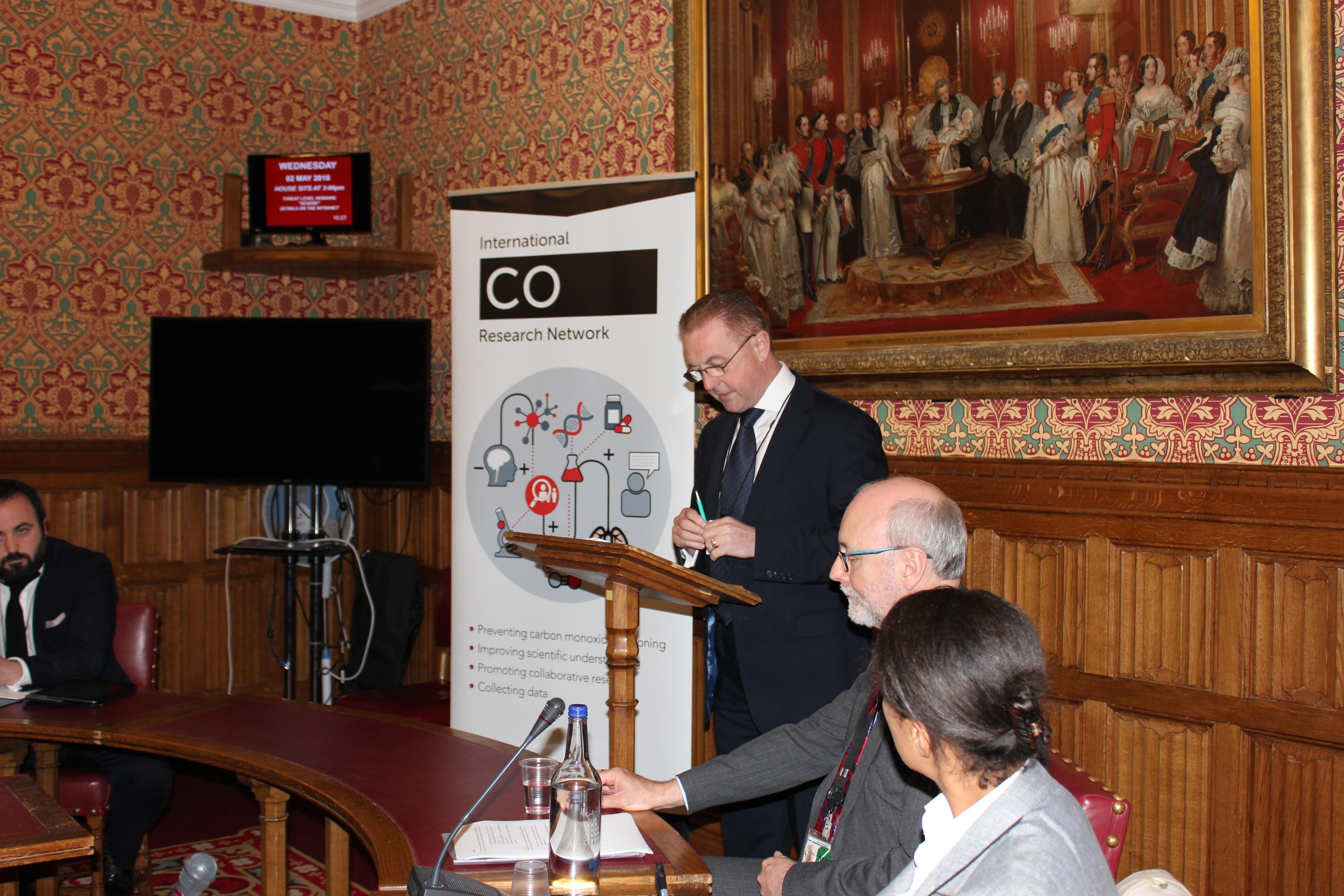 Chris Bielby, ICORN launch
